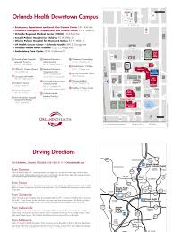 Street Map Orlando Fl by Downtown Orlando Campus Map Docshare Tips