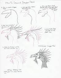 to draw a dragon head 2
