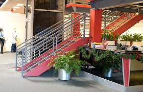 office stairs design custom stair fabrication installation for commercial residential
