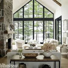 rustic living room furniture ideas glass table top and storage