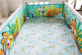 Finding Nemo Crib Bedding 8 Pieces Fish Baby Bedding Set Cot Crib Bedding Set For