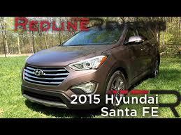 hyundai 2015 santa fe reviews 2015 hyundai santa fe redline review