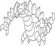 pokemon mega rayquaza 6 coloring pages