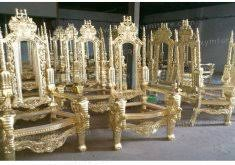 Wedding Chairs For Sale Cheap Throne Chairs Lion Throne Chair In Gold Leaf Black Velvet