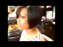 how to do a bob hairstyle with weave 3d part bob hairstyle swing bob quickweave sty youtube