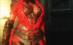 crimson crimson twilight armor cbbe sse at skyrim special edition nexus