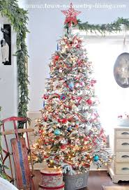 country christmas tree christmas tree decorating ideas part one town country living