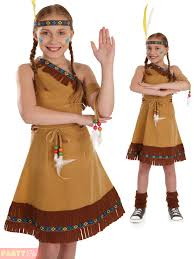 pocahontas costume childs indian squaw costume pocahontas fancy dress kids book