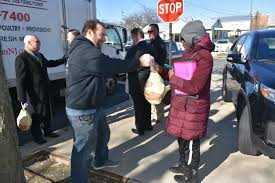 local enforcement organizations donate 500 turkeys for
