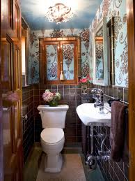 how to design a bathroom flower print country kitchen wallpaper ideas red designs loversiq