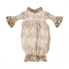 haute baby newborn gown enchantments