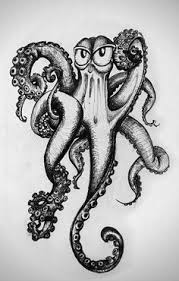 octopus by antiismist cute fun facts octopi vintage