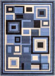 Blue Contemporary Rugs Super Cheap Area Rugs Roselawnlutheran