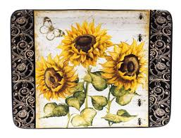 sunflower kitchen canisters sunflower kitchen decor photos ideas