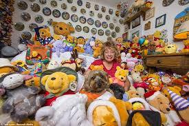 desain kamar winnie the pooh perempuan ini punya hobi yang unik koleksi boneka winnie the pooh