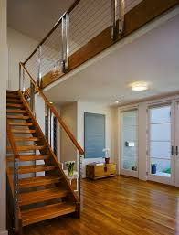 Modern Stairs Design Indoor Stair Railing Ideas Staircase Modern With Open Stair Chest