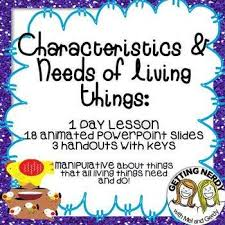 Characteristics Of Living Things Worksheet Middle 81 Best Third Grade Living Things Images On