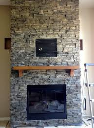 inspirational stacked stone fireplaces decor ideas and s as wells