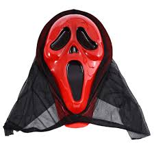 scream halloween mask tricky toys scary mask festival skull masks skeleton scarf half
