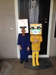 Halloween Costumes Minecraft Minecraft Villager Stampy Cat Costumes 2016 Minecraft