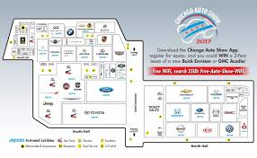 Mlb Map Dhs 2017 Chicago Auto Show 25 Should See Vehicles Things To Do