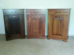 wooden kitchen trash bins home design ideas
