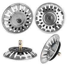 Sink Plug Strainer EBay - Kitchen sink drainer plug