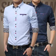 new stylish print men casual shirts patchwork men shits business