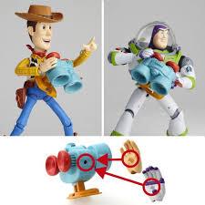 Revoltech Woody Meme - com walt disney toy story sci fi revoltech no 010 woody
