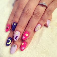 best 25 sailor moon nails ideas on pinterest kawaii nails