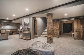 rustic basement ideas harlan court finished lower level rustic basement columbus