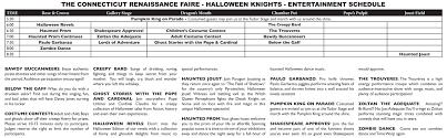halloween knights u2013 the connecticut renaissance faire