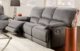 Reclining Sofa Modern by Furniture Grey Recliner Sofa With Glass Windows And Grey Carpet