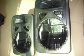 empty plastic speaker cabinets plastic pp speaker cabinet china mainland plastic processing service