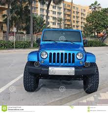 blue jeep blue jeep wrangler editorial stock photo image 67501113