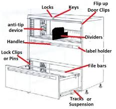 hon file cabinet lock repair cabinet parts