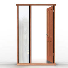 Hardwood Door Frames Exterior External Lpd Universal Hardwood Door Frame Shown With Single Side