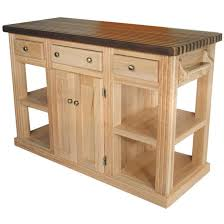 Unfinished Kitchen Islands Unfinished Furniture Kitchen Island Home Designs