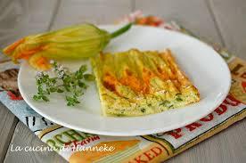 ricette con fiori di zucchina al forno frittata al forno ai fiori di zucca la cucina di hanneke