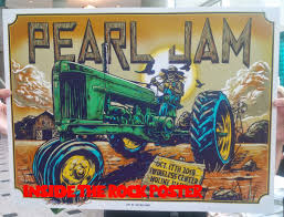 Pearl Jam Halloween Shirt Inside The Rock Poster Frame Blog Pearl Jam Moline Poster By Ian