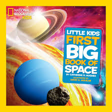 national geographic little kids first big book of space national