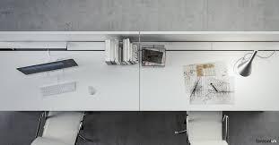 Office White Desk White Office Desks Xl Single Desk Fantoni Uk