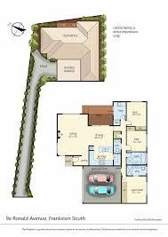 747 floor plan 9a ronald avenue frankston south vic 3199 sold
