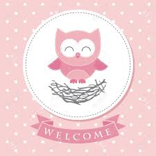 welcome baby card design vector illustration royalty free