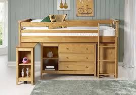 Pine Secretary Desk by Birlea Cotswold 3ft Single Midi Sleep Station Pine Amazon Co Uk
