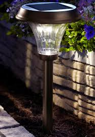 Solar Patio Lights Amazon by Moonrays 91754 Richmond Solar Led 25x Metal Path Warm White Light