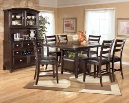 Ashley Dining Room by Ridgley D520 Counter Height Table With Storage