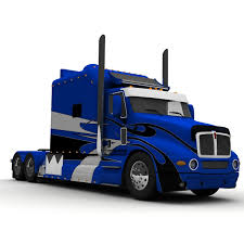 s model kenworth truck custom ari 3d model
