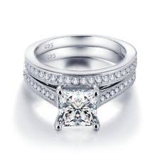 bridal ring sets uk wedding engagement ring set ebay