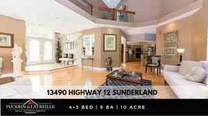 luxury home for sale 13490 highway 12 sunderland durham region